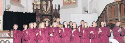 Foto zu Meldung: Kirchennacht für junge Leute, Heimspiel für Gospelchor