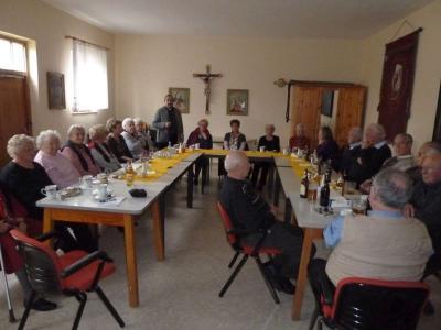 Foto zur Meldung: Die Senioren trafen sich im Jugendheim