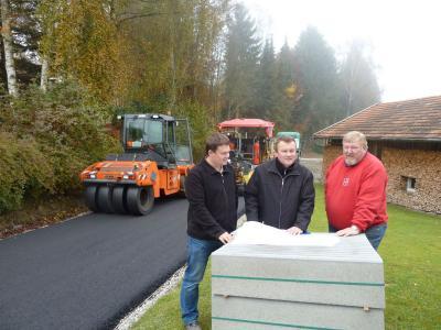 Foto zu Meldung: Kanalbau in Voggenzell/Altwies wird in diesem Jahr noch abgeschlossen