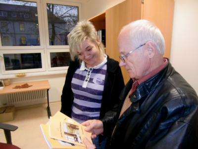 Foto zur Meldung: Rehfelder Heimatstube und Bibliothek in guter Nachbarschaft