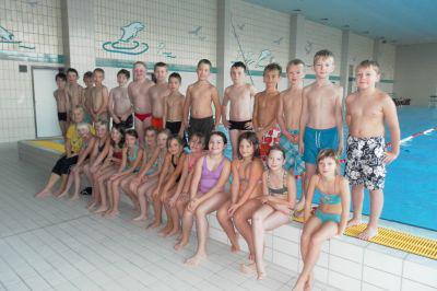 Foto zu Meldung: Schwimmen Klasse 3