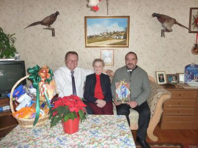 Foto zu Meldung: Irmengard Thöner feierte ihr 80. Wiegenfest