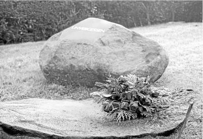 Foto zur Meldung: Aktiv für Burgschwalbach: Gedenksteine für anonymes Gräberfeld