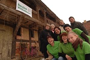 Foto zu Meldung: Der Förderverein Begegnungszentrum Oberlaubenstall Borgisdorf e.V. wird ausgezeichnet.