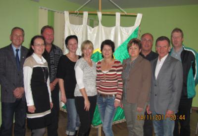 Foto zur Meldung: Jahreshauptversammlung der Grün-Weissen