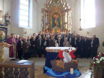 Foto zur Meldung: 80 Jahre Frauen- und Mütterverein Prackenbach