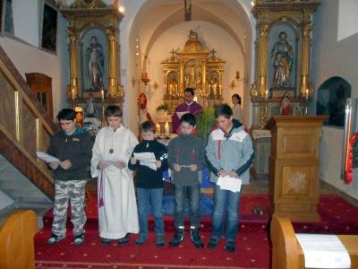 Foto zur Meldung: Familiengottesdienst zum 2. Advent in Prackenbach und Krailing