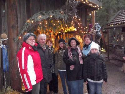 Foto zu Meldung: Bei der Schweinhütter Waldweihnacht