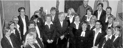 Foto zur Meldung: Frauenchor: Beliebte Lieder stimmten auf die besinnliche Zeit ein