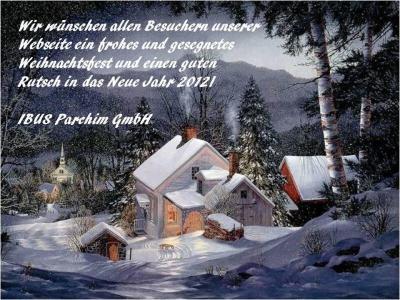 Ibus Parchim - Frohe Weihnachten und ein gesundes neues Jahr!