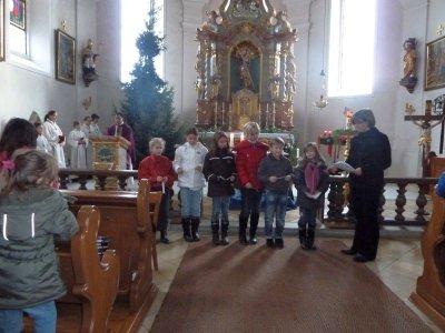 Foto zur Meldung: Familiengottesdienst zum 4. Adventsonntag