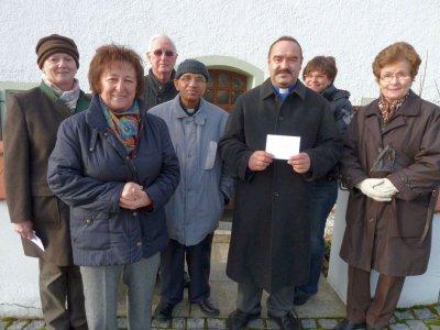 Foto zur Meldung: Pfarreien und Kindergärten freuten sich über eine Spende