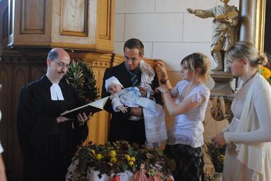 Foto zur Meldung: Taufe