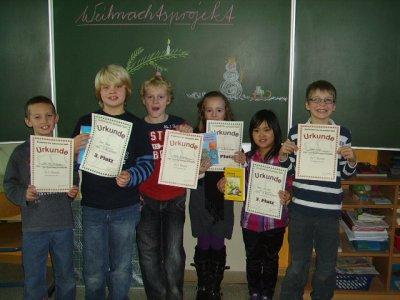 Foto zur Meldung: Lesewettbewerb in der Grundschule