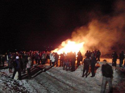 Fackelbrand am Lohberg