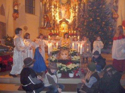 """Foto zur Meldung: Pfarrer Drexler: """"Gott stieg vom Himmel herab, vom königlichen Thron"""""""