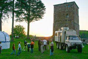 Vorschaubild zur Meldung: Mobile Sternwarte