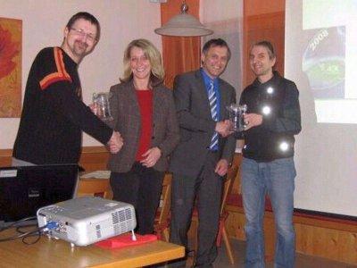 Foto zur Meldung: AOK Pflegeexperten zu Gast beim Dorfverein