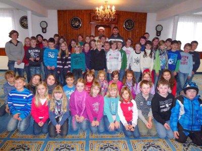 Foto zur Meldung: Ein willkommener Schultag