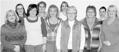 Foto zur Meldung: Frauenchor: Frauenchor blickt gut gelaunt aufs neue Jahr