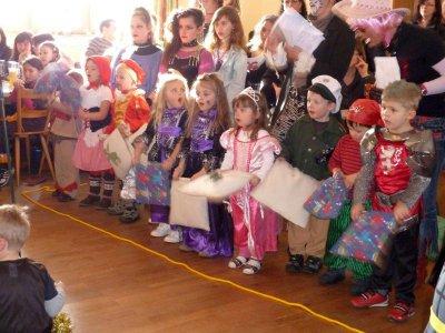 Foto zur Meldung: Große Faschingsfeier beim Kindergarten St. Johannes