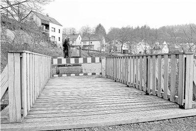 Foto zur Meldung: Ortsgemeinde: Verbindungsweg zur Au in Burgschwalbach in Arbeit