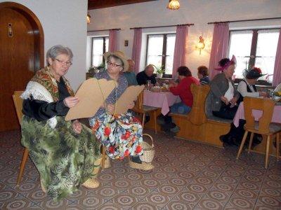 Foto zur Meldung: Ein vergnügter Faschingsnachmittag beim Seniorenkreis