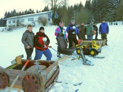 Foto zur Meldung: Achte Winterparty und Rodelspaß bei den Bergschützen