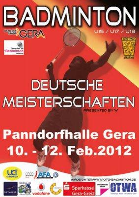 Foto zu Meldung: Tröbitz wieder bei den Deutschen Badminton-Jugendmeisterschaften vertreten