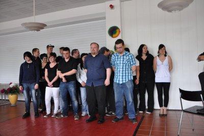 Foto zur Meldung: 01.06.2012  Abt. 1 Feierliche Zeugnisübergabe