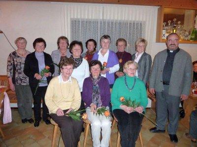 Foto zur Meldung: Ehrungen beim Frauenbund
