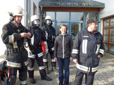 Foto zur Meldung: Feueralarm in der Schule - Gott sei Dank war es nur eine Übung