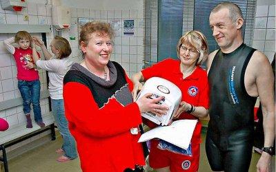 Vorschaubild zur Meldung: Mehr als 300 Besucher pro Woche in der Schwimmhalle Doberlug