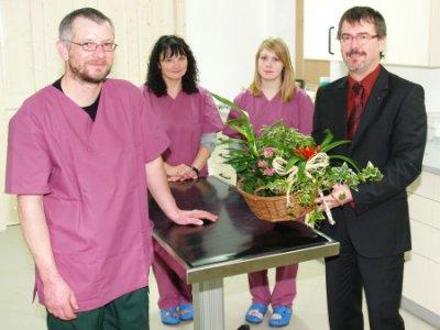 Foto zu Meldung: Dr. Gregor Tilch eröffnet neue Kleintierpraxis