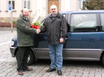 Foto zu Meldung: Neues Mietautounternehmen in Röslau