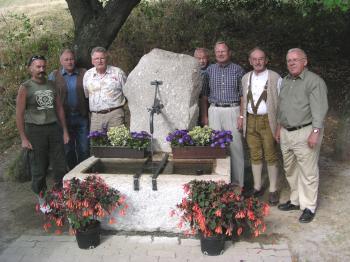 Foto zu Meldung: Der Johannesbrunnen an der Thusstrasse
