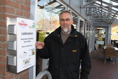 Foto zur Meldung: E-Bike-Stationen eingeweiht