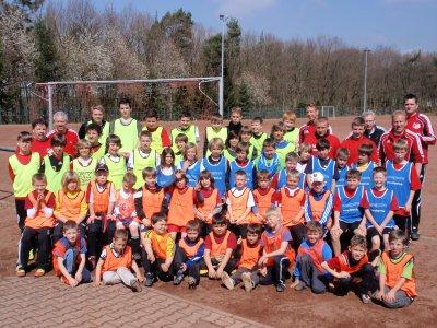 Vorschaubild zur Meldung: 53 Kinder beim Fußballcamp der TuS Burgschwalbach