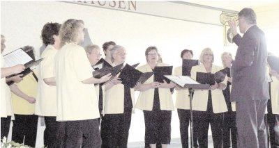 Foto zur Meldung: Frauenchor: Konzert stimmt auf den Frühling ein