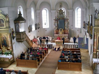 Foto zur Meldung: Karwoche und Auferstehungsfest in Prackenbach und Krailing gefeiert