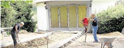 Foto zur Meldung: Ortsgemeinde: Einweihung der neuen Halle Ende September