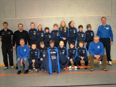 Foto zur Meldung: Neue Trainingsanzüge für E-Jugendfussballer