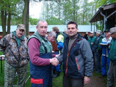 Foto zur Meldung: Erstes hegefischen der Wusterhausener Petri Jünger