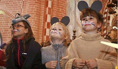 Foto zur Meldung: Mäuse erobern Doberluger Klosterkirche