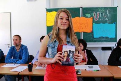 """Foto zur Meldung: Neues Gymnasium Falkensee: Lesewettbewerb """"Sonne, Strand und Meer - Geschichten aus Sansibar"""" am Neuen Gymnasium Falkensee durchgeführt"""