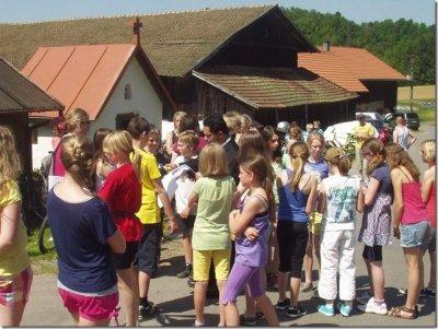 Foto zur Meldung: Radler-Maiandacht bei der Hl. Maria in Lehen