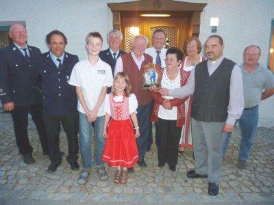 Foto zu Meldung: Franz Schötz feierte sein 80. Wiegenfest