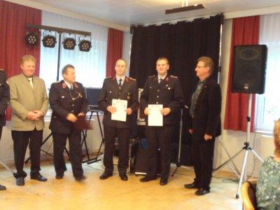 Foto zur Meldung: Jubiläumsfeierlichkeiten der Freiwilligen Feuerwehr Meisdorf 11. - 12.05.2012