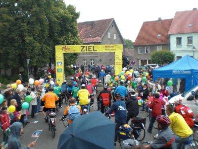 Foto zur Meldung: Prignitz-Tour-Empfang in Bad Wilsnack