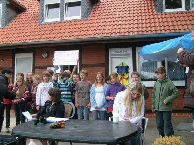 Foto zur Meldung: Abfallparcours in Wittenberge